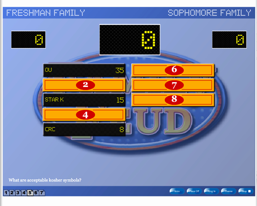 Family Feud Powerpoint Template Lovely Family Feud Game Show Template Hourslealing Mp3
