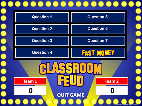 Family Feud Powerpoint Template New 101 social Stu S Websites for Teachers U S History
