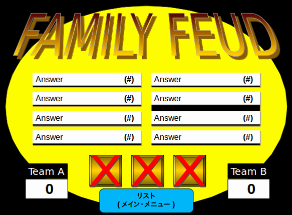 Family Feud Powerpoint Template Unique 8 Family Feud Powerpoint Templates Free Sample Example