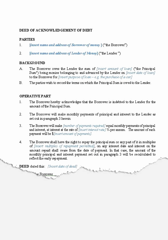 Family Loan Agreement Template Elegant Personal – Loan Agreements