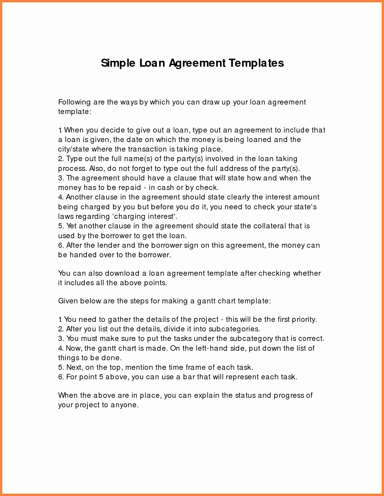 Family Loan Agreement Template Fresh 8 Loan Agreement Template Between Family Members