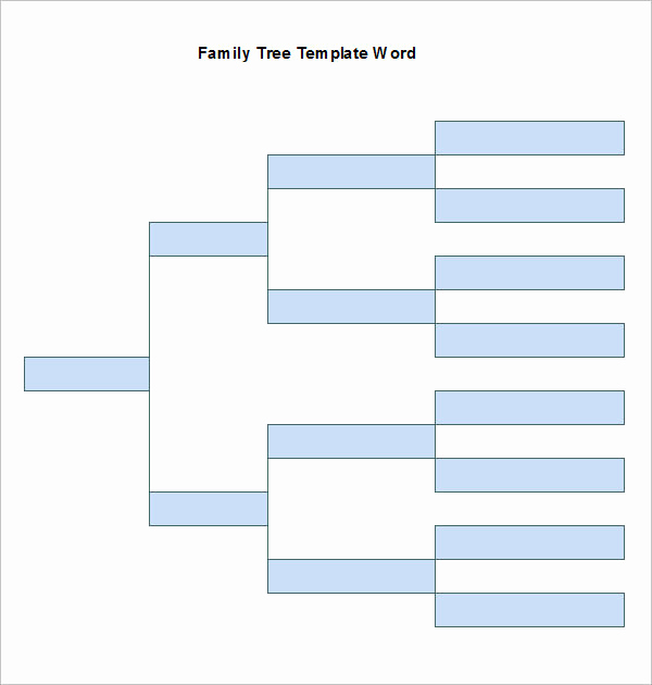 Family Tree Template Google Docs Luxury Word Family Tree Templates