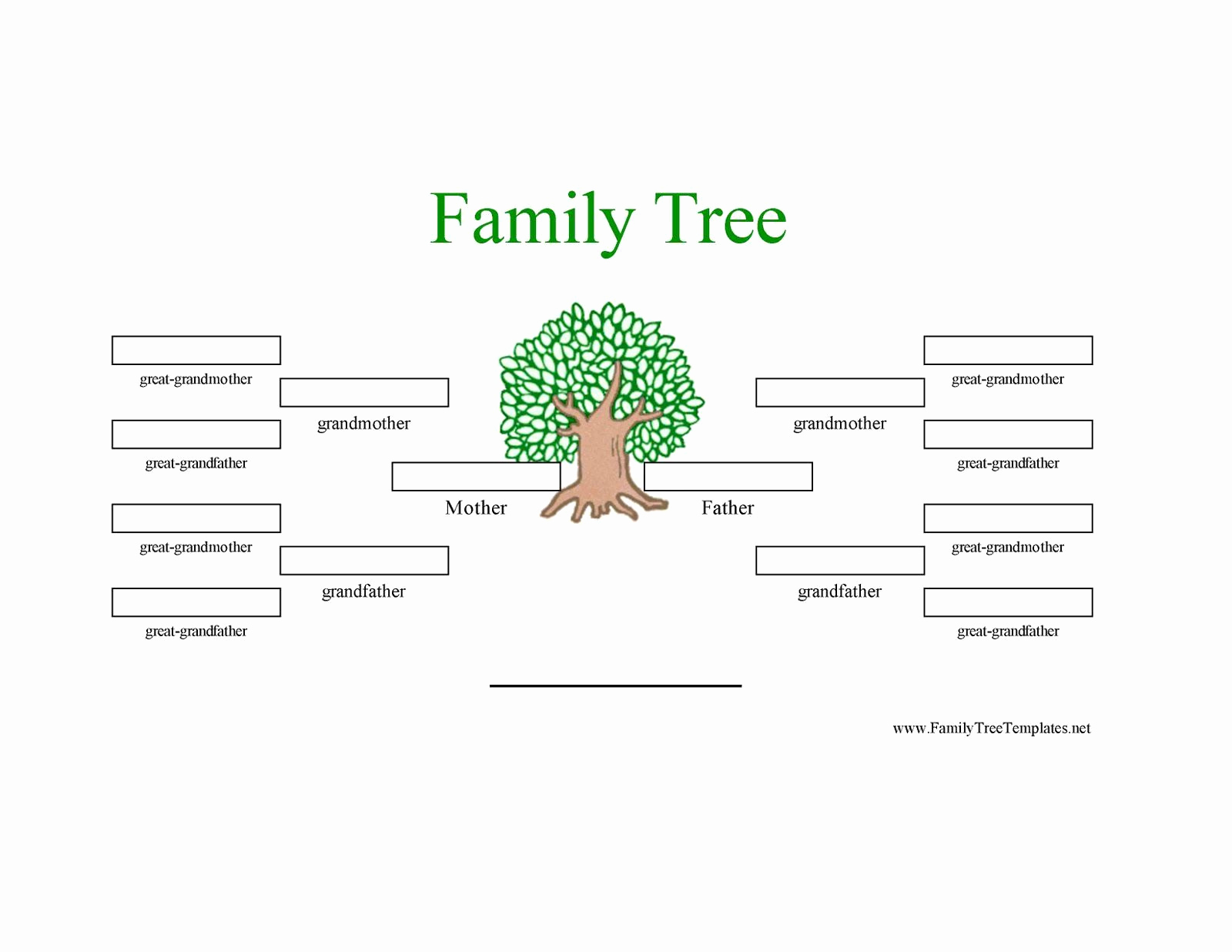 Family Tree Template Online Elegant 12 Generation Family Tree Sample