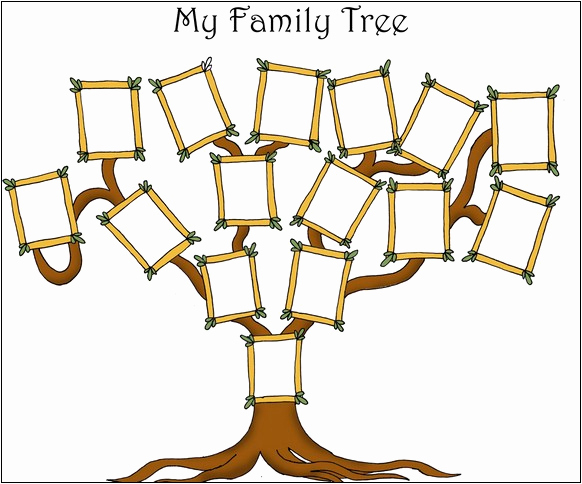 Family Tree Template with Siblings Awesome Free Printable Family Tree with Siblings Printable 360