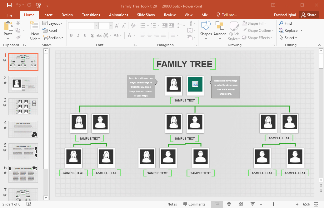 Family Tree Templates Excel Best Of Family Tree Template for Excel