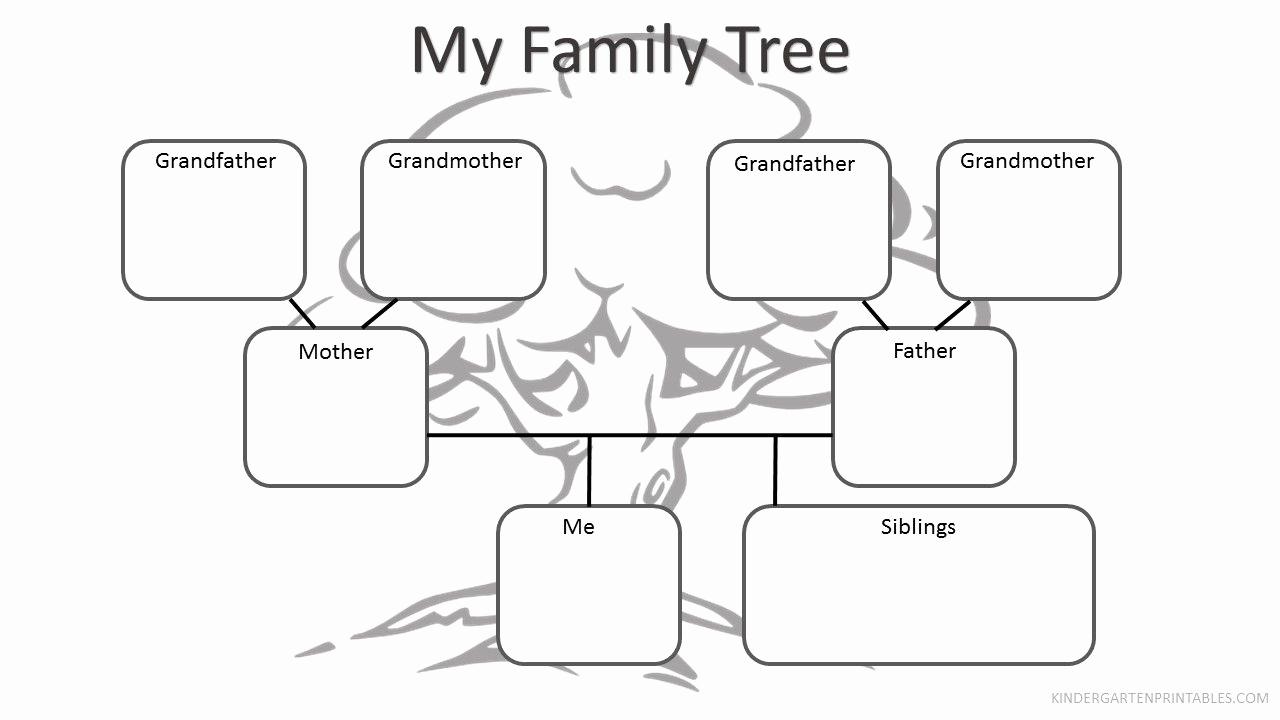 Family Tree Worksheet Printable Beautiful Free Printable Family Tree Worksheet Free Family Tree
