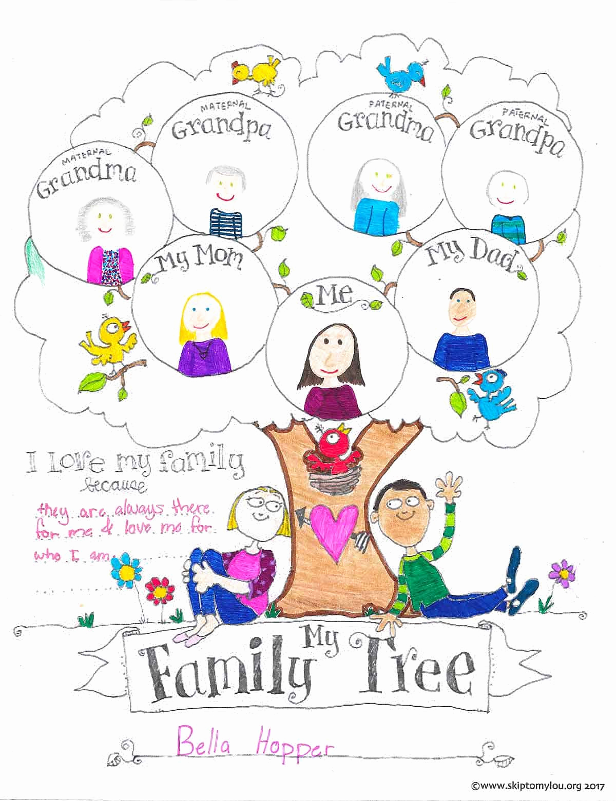Family Tree Worksheet Printable Inspirational Free Printable Family Tree Coloring Page
