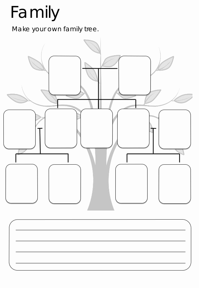 Family Tree Worksheet Printable Luxury Best 25 Family Tree Worksheet Ideas On Pinterest