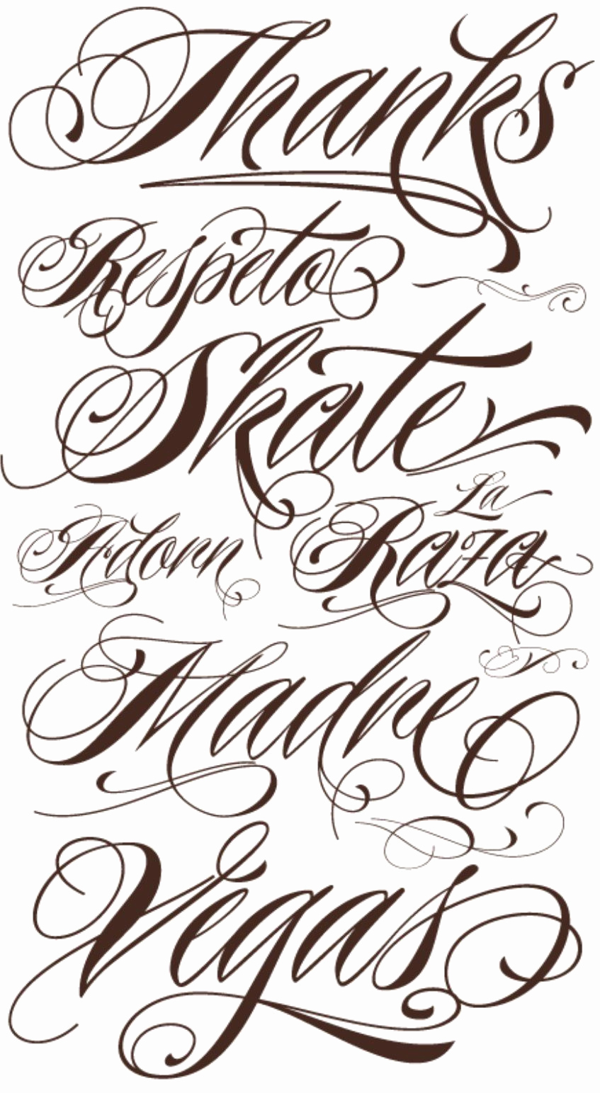 Fancy Cursive Fonts for Tattoos Beautiful Fancy Cursive Fonts Alphabet for Tattoos Fancy Cursive
