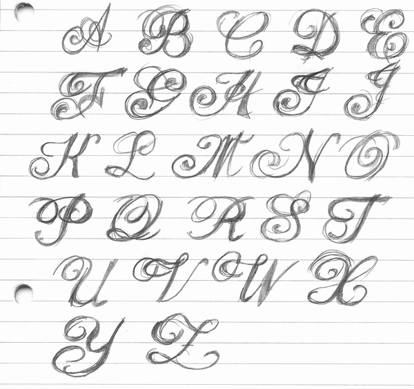 Fancy Cursive Fonts for Tattoos Fresh Fancy Lettering by Artitek