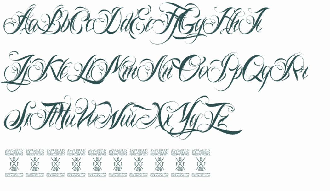 Fancy Cursive Fonts for Tattoos Lovely Fancy Script Fonts for Tattoos Free top Tattoos