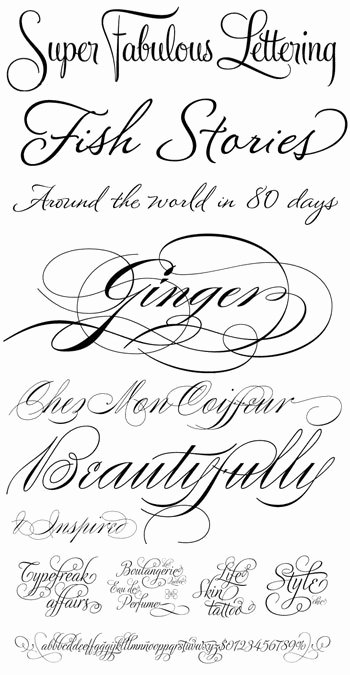 Fancy Cursive Fonts for Tattoos Lovely Wedding Fonts Cinnamon Kiss Paper Studio