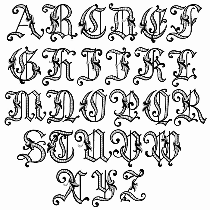 Fancy Cursive Fonts for Tattoos Unique Fancy Letters Of the Alphabet