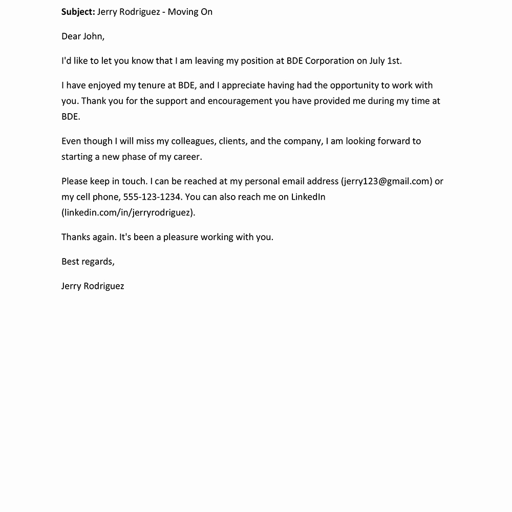 Farewell Letter to Colleagues Awesome Farewell Letter Samples and Writing Tips