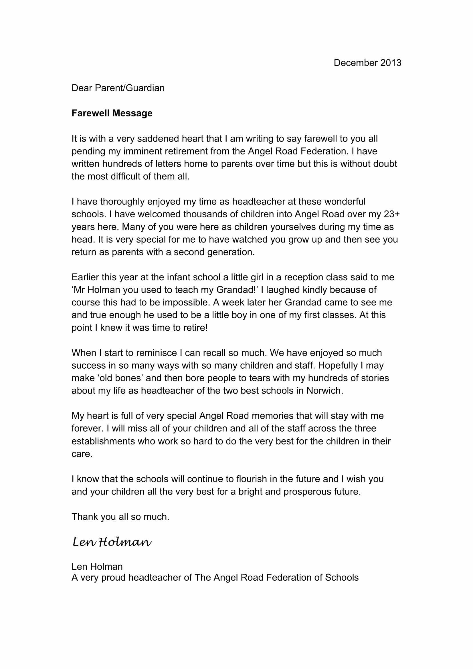 Farewell Letter to Colleagues Fresh 9 Farewell Email to Coworkers Example