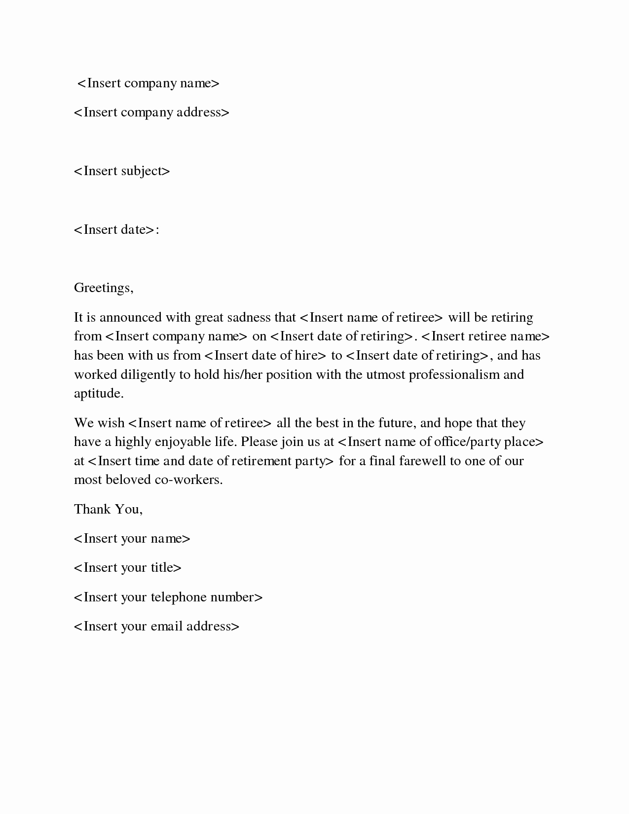Farewell Letter to Colleagues Inspirational Goodbye Letter to Coworker Letters to Say Goodbye to Co