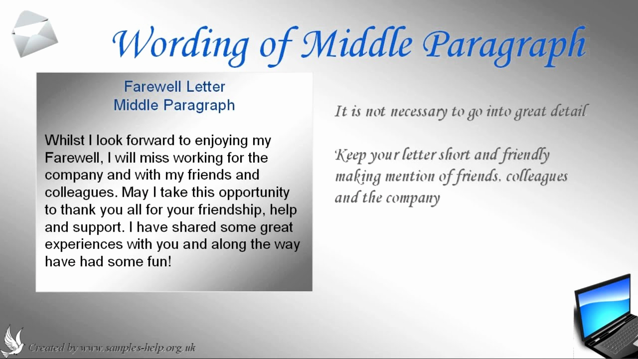 Farewell Letter to Colleagues Inspirational How to Write A Farewell Letter to Coworkers