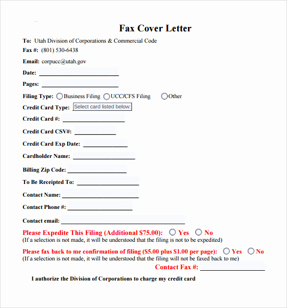 Fax Cover Letter Sample Best Of 10 Fax Cover Letter Templates – Samples Examples & format