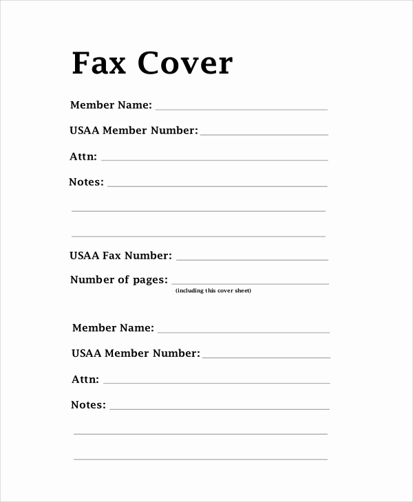 Fax Cover Letter Sample Best Of 8 Sample Fax Cover Letters – Pdf Word