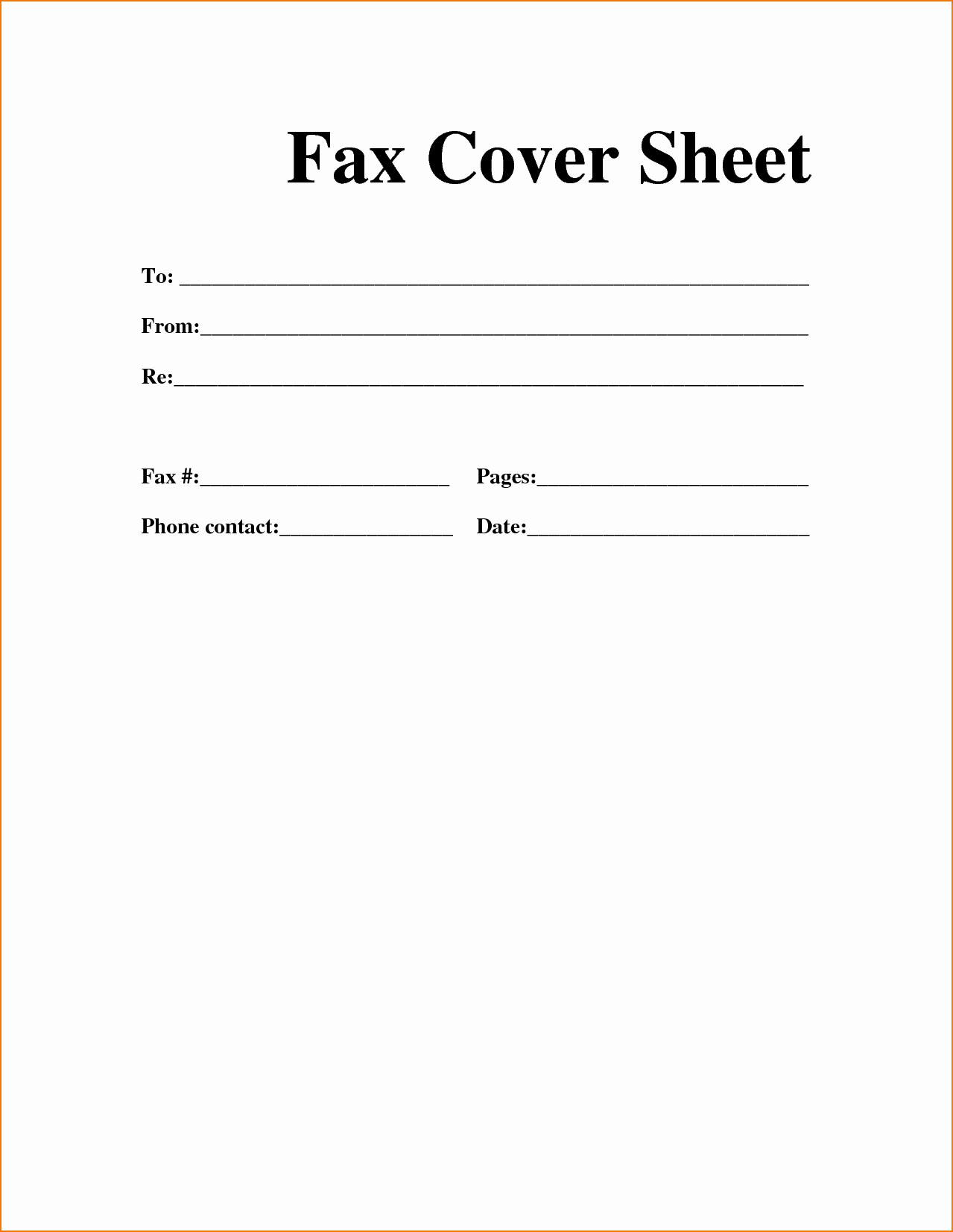Fax Cover Letter Sample Best Of Sample Personal Fax Cover Sheet Template In 2019