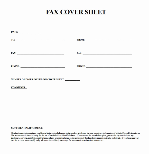 Fax Cover Page Template Best Of Sample Urgent Fax Cover Sheet 7 Documents In Pdf