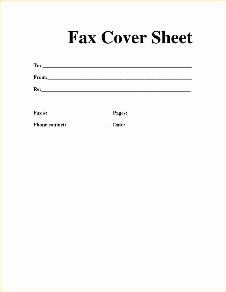 Fax Cover Page Template Lovely Fax Cover Sheet – Download Fax Cover Sheet Fax Cover
