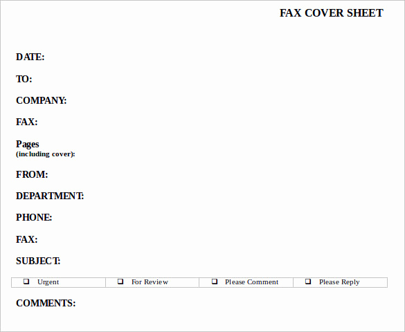 Fax Cover Sheet Confidential Fresh Sample Confidential Fax Cover Sheet 12 Documents In Pdf
