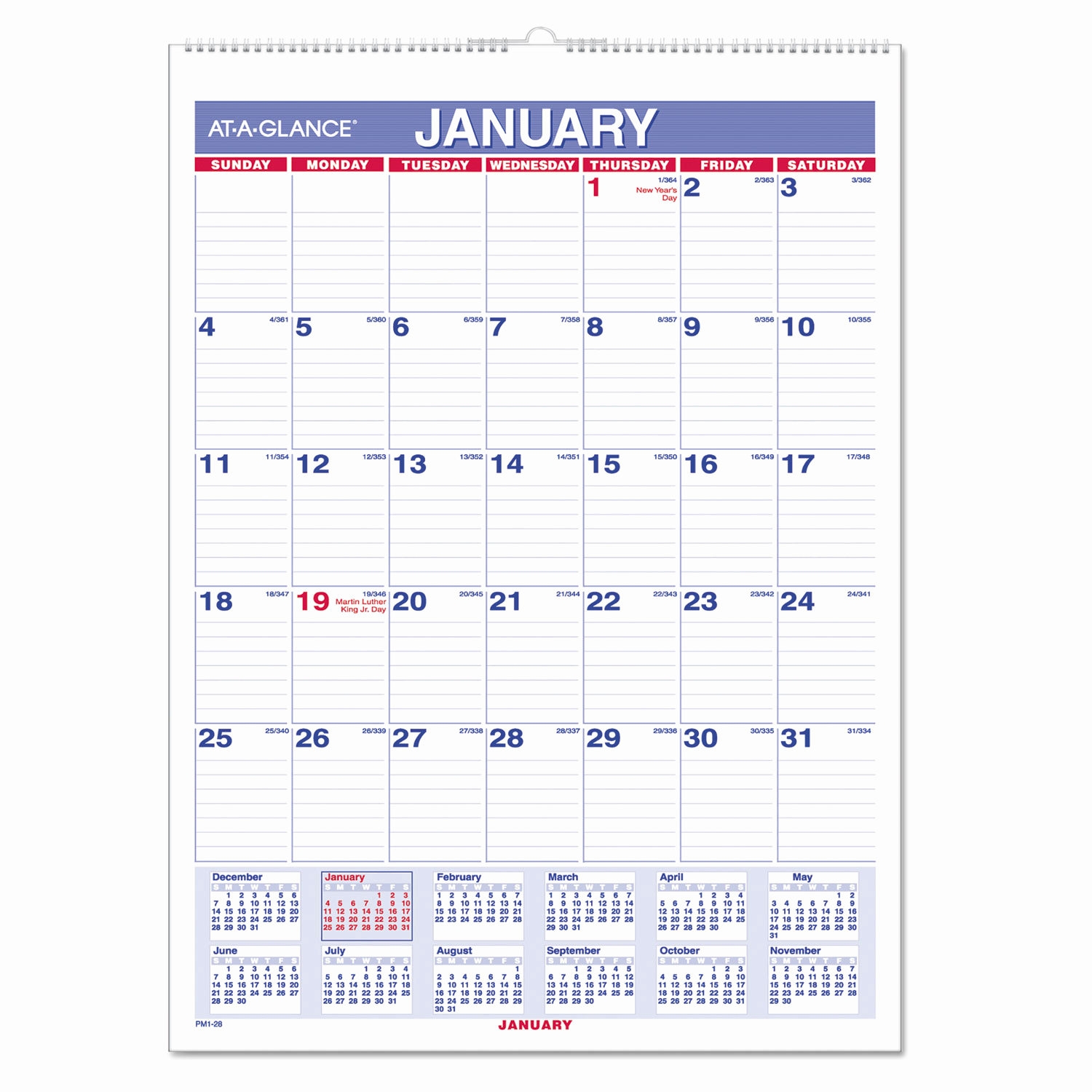 Fedex Holidays Schedule 2019 Inspirational Monthly Wall Calendar with Ruled Daily Blocks 8 X 11