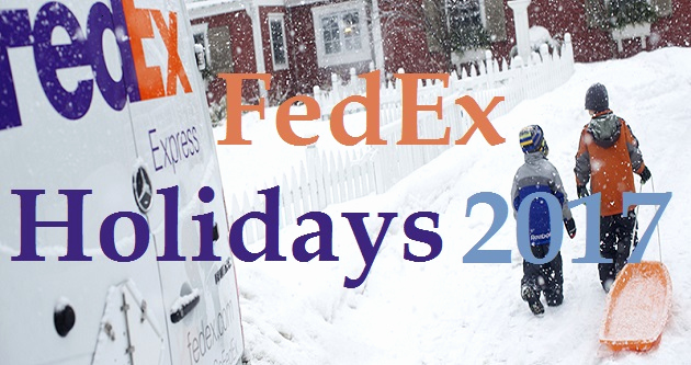 Fedex Holidays Schedule 2019 Lovely Fedex Holidays 2017