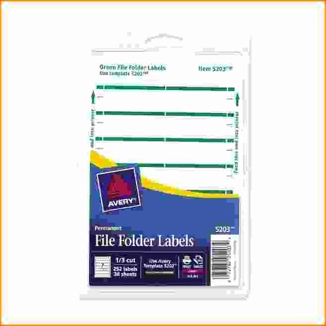 File Folder Label Template Lovely Avery File Folder Label Templates Icebergcoworking