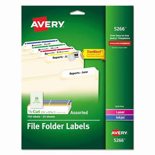 File Folder Label Template Unique Ave5266 Avery Permanent File Folder Labels Zuma