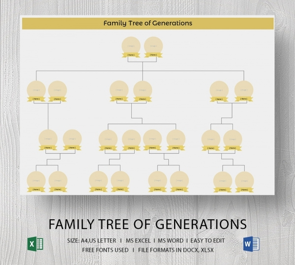 Fill In Family Tree Awesome Blank Family Tree Template 32 Free Word Pdf Documents