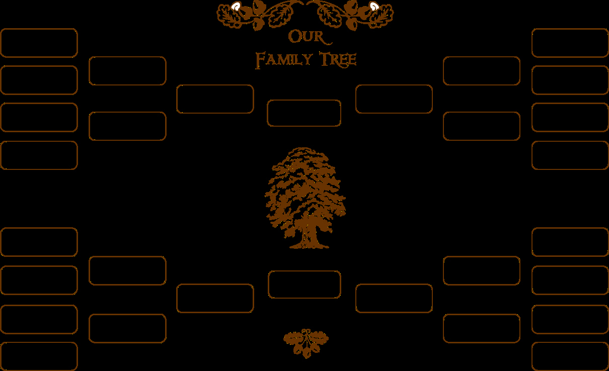 Fill In Family Tree Best Of Blank Family Tree