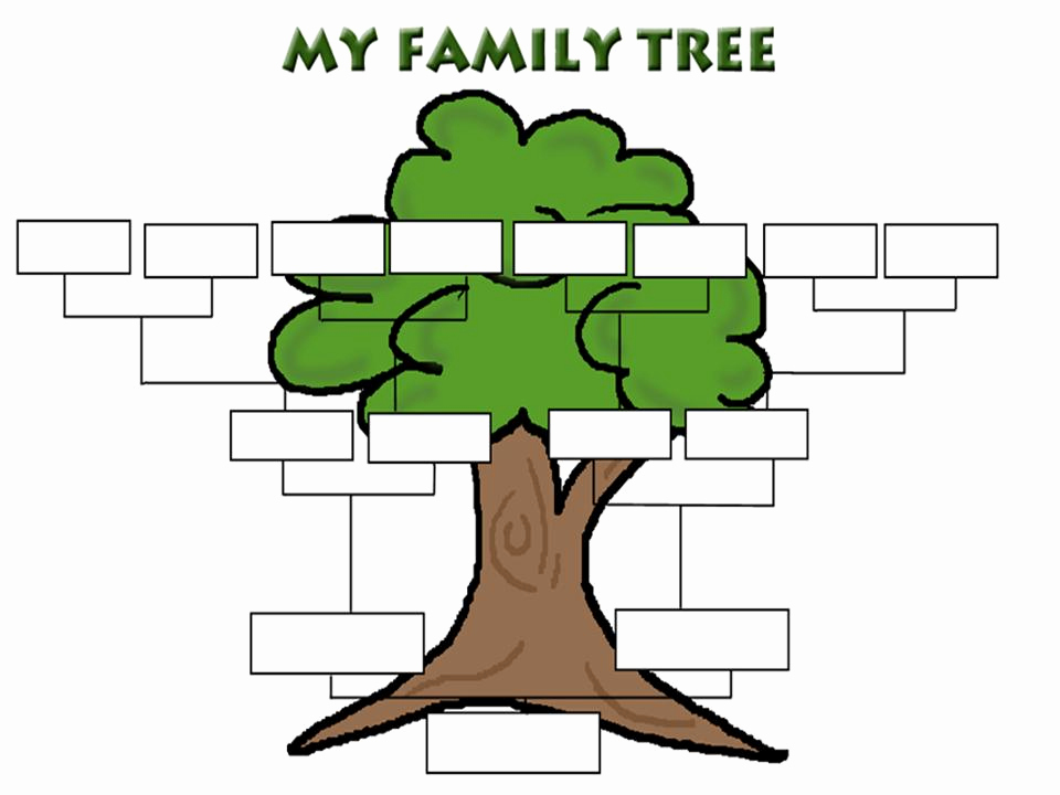 Fill In Family Tree Best Of Printable Fill In Family Tree Clipart Best