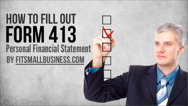 Fillable Personal Financial Statement New How to Fill Out form 413 the Personal Financial Statement