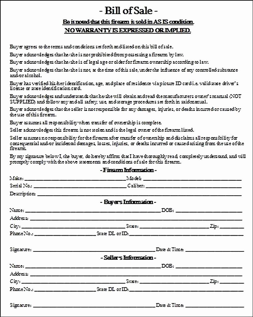 Firearm Bill Of Sale Texas Fresh Firearm Bill Of Sale Integrated Close Bat forum