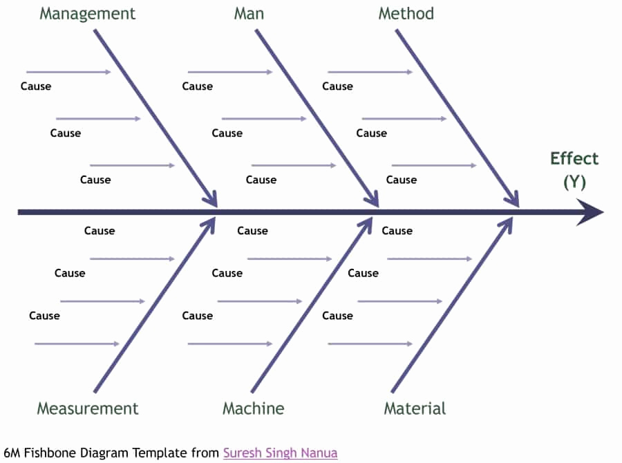 Fishbone Diagram Template Word Fresh 43 Great Fishbone Diagram Templates & Examples [word Excel]