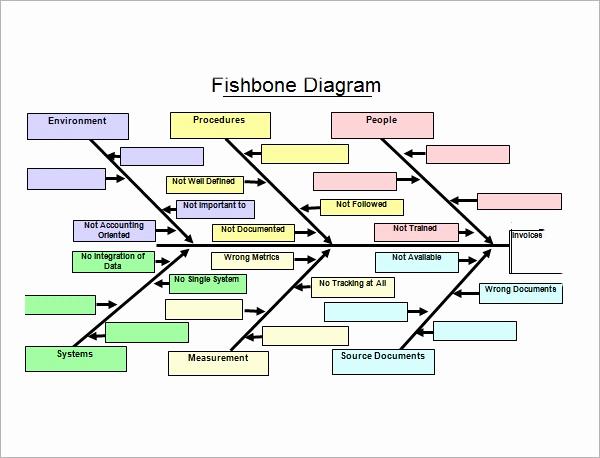 Fishbone Diagram Template Word Luxury Sample Fishbone Diagram Template 13 Free Documents In