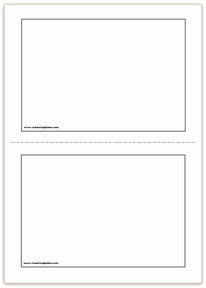Flash Card Template Word New Flash Card Template