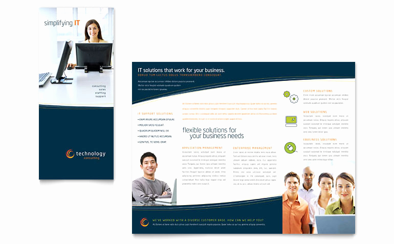Flyer Templates Free Downloads Awesome Free Tri Fold Brochure Template Download Word
