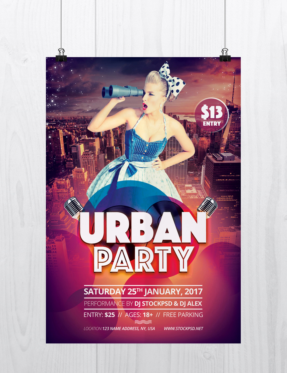Flyer Templates Free Downloads Best Of Urban Party Download Free Psd Flyer Template Stockpsd