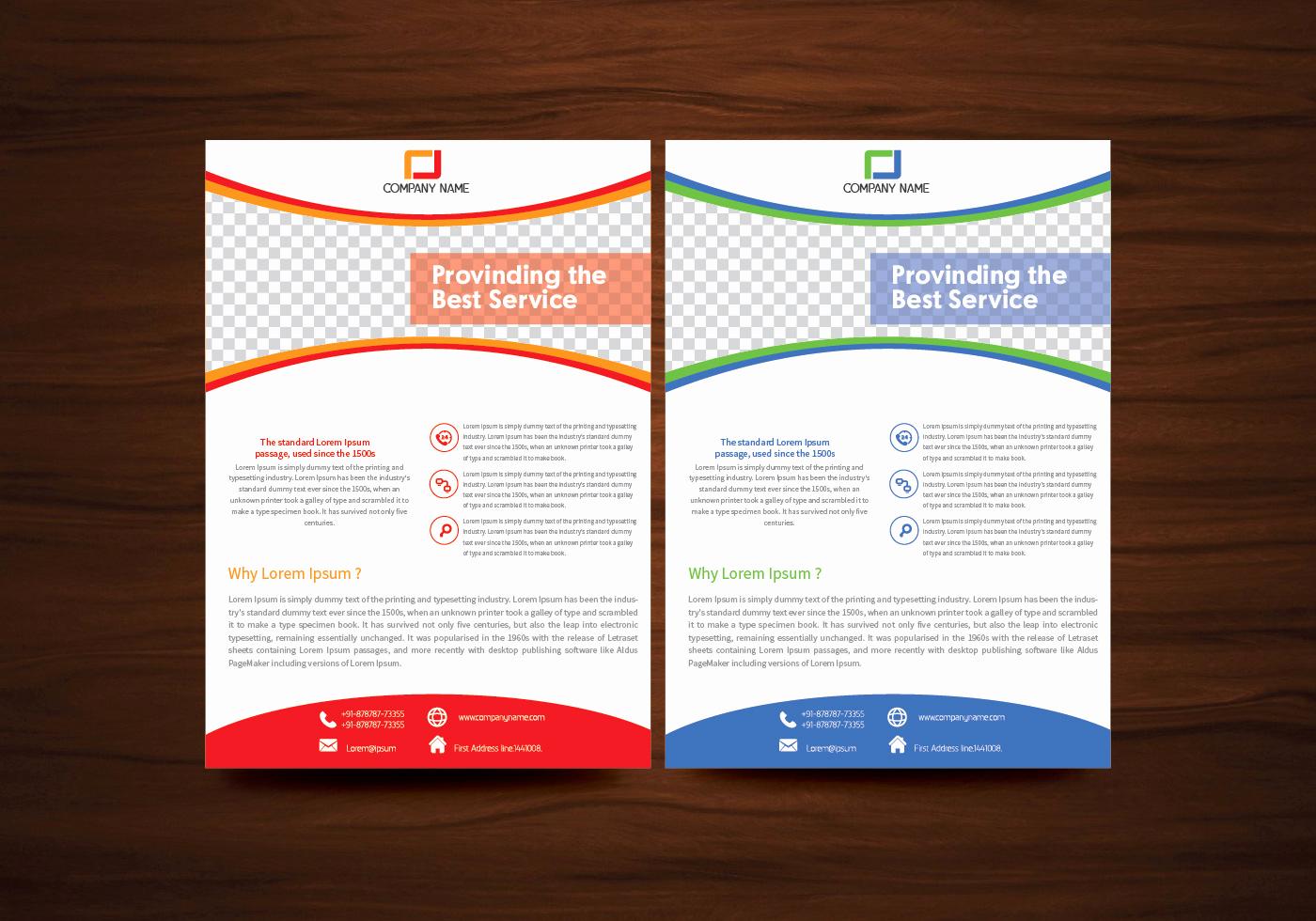 Flyer Templates Free Downloads Best Of Vector Brochure Flyer Template Vector Download Free