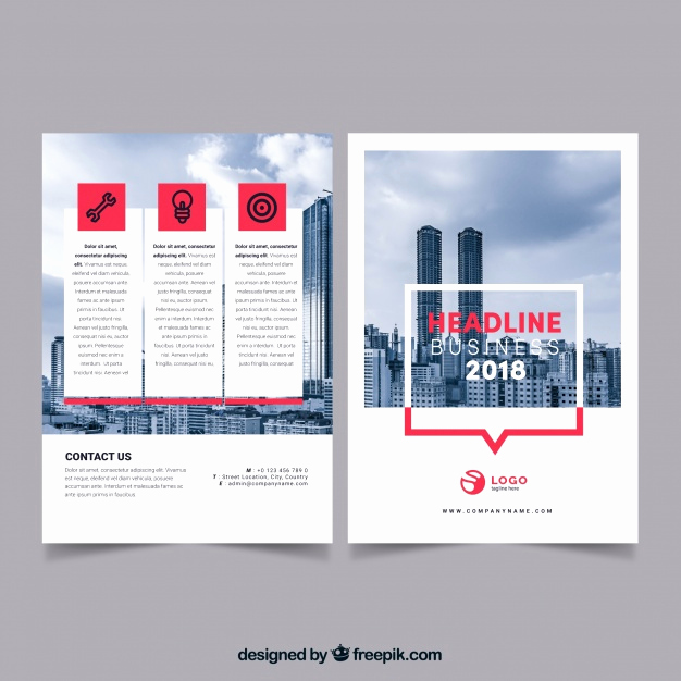 Flyer Templates Free Downloads Inspirational Professional Business Flyer Template Vector