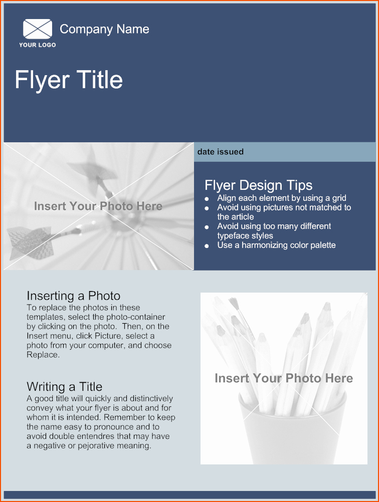 Flyers Templates Free Word Best Of 5 Free Online Flyer Templates Bookletemplate