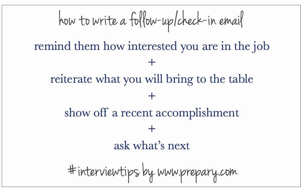 Follow Up Emails after Interview Awesome How to Write A Follow Up Email after An Interview the