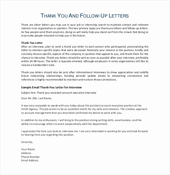 Follow Up Emails after Interview Inspirational 11 Thank You Email after Teaching Interview Pdf Doc