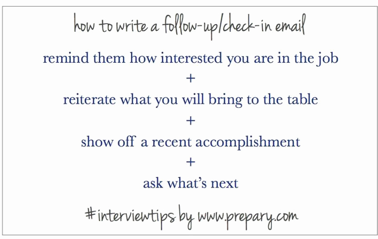 Follow Up Emails after Interview Unique How to Write A Follow Up Email after An Interview