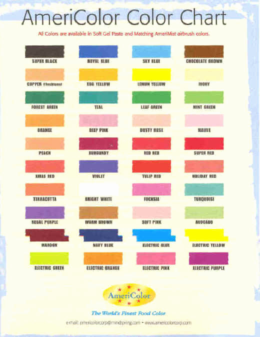 Food Color Mixing Chart Inspirational Food Coloring Cookie Baking and Decorating Gel Colors