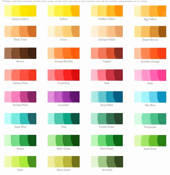 Food Color Mixing Chart New Mixed Colors Chart Food Coloring Chart Helps