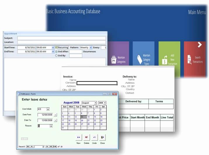 Free Access Database Templates Elegant Ms Access Database Templates – some are even Free